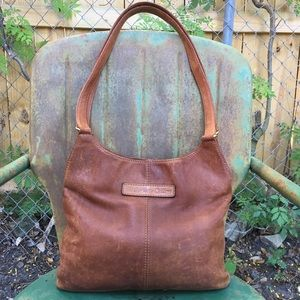 Fossil Distressed Leather Bag